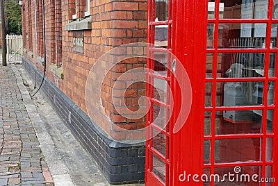 Britse telefooncel