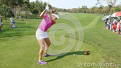 Brittany Lang von USA in Honda LPGA Thailand 2016