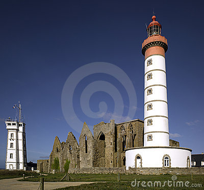 Free Brittany : Saint Mathieu Lighthouse Royalty Free Stock Images - 11631339