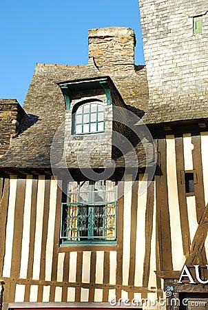 Brittany timber framed house, Vitré, France