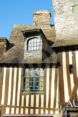 Brittany timber framed house, Vitré, France