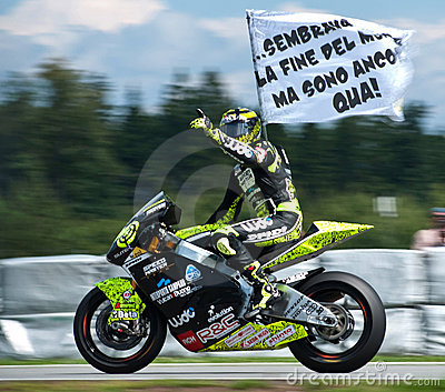 Brno ¨Moto2 Andrea Iannone winner Editorial Stock Image