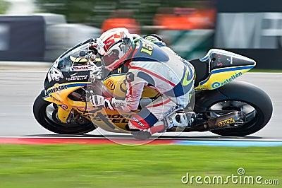 BRNO - main race of Moto2 Editorial Photography