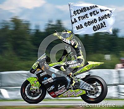 Brno ¨Moto2 Andrea Iannone winner Editorial Stock Image