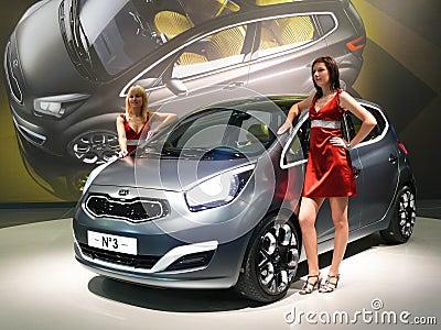 Brno Motor Show - Kia No. 3 Editorial Image