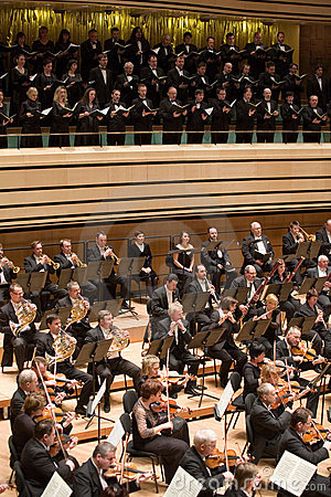 Brno Philharmonic Orchestra perform Editorial Stock Photo