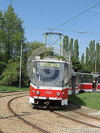 Brno tram Editorial Image