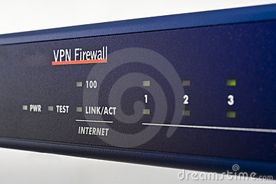 Broadband internet firewall router