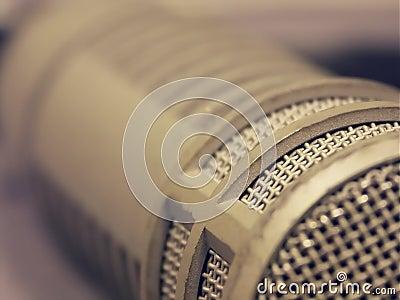 Broadcast microphone macro