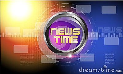 broadcast news template royalty free stock images image 31717759. Black Bedroom Furniture Sets. Home Design Ideas