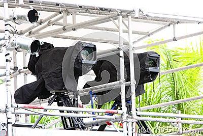 Broadcast TV Camera