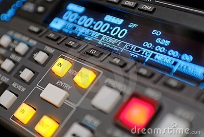Broadcast vcr recorder, beta digital