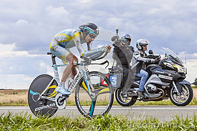 Broadcasting Le Tour de France Editorial Image