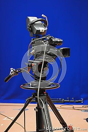 Broadcasting TV Camera