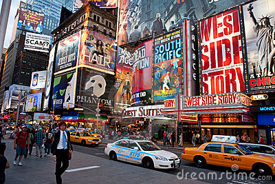 Broadway Editorial Image