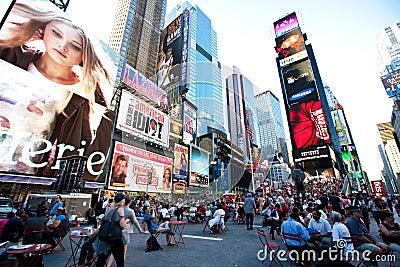 Broadway Editorial Stock Photo