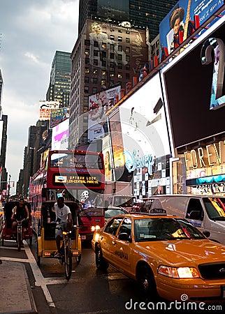 Broadway Editorial Image