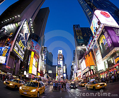 Broadway Editorial Stock Image