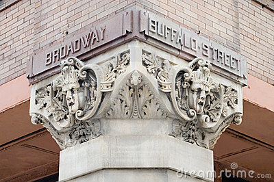 Broadway and Buffalo Street Gothic Art