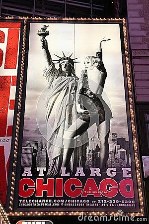 Broadway show advertisements