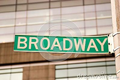 Broadway Sign, New York
