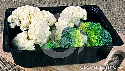 Broccoli and Cauliflower Box