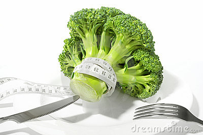Broccoli diet meter