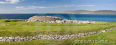 Broch of Gurness panorama