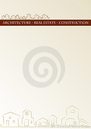 Brochure cover - classic style