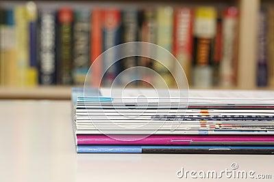 Brochures on Table