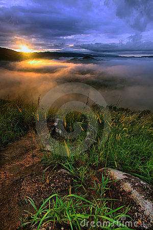 Broga Hill - Sunrise