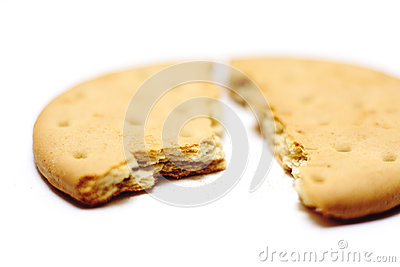 Broken biscuit