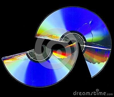 Broken cd rom scan