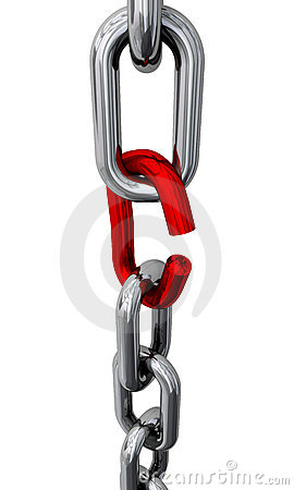 Free Broken Chain Royalty Free Stock Photo - 7944125