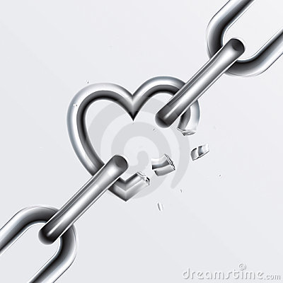 Free Broken Chain Set 2 Royalty Free Stock Images - 15197219
