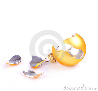 Free Broken Christmas Ball Stock Images - 2507984