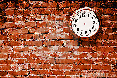 Broken clock.
