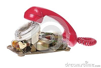 Broken Dial Phone