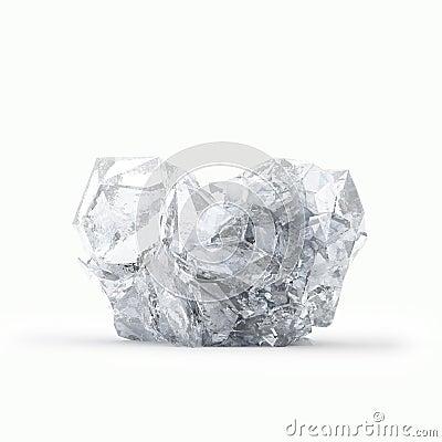 Broken  frozen heart