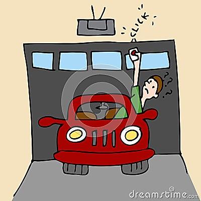 Broken Garage Door Opener