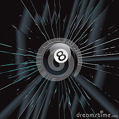 Broken Glass 2 8 Ball