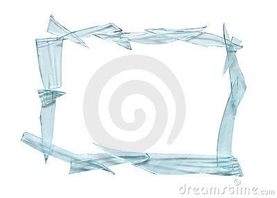frame with broken glass stock images image 34754744
