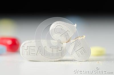 Broken HEALTH CARE reform system pills