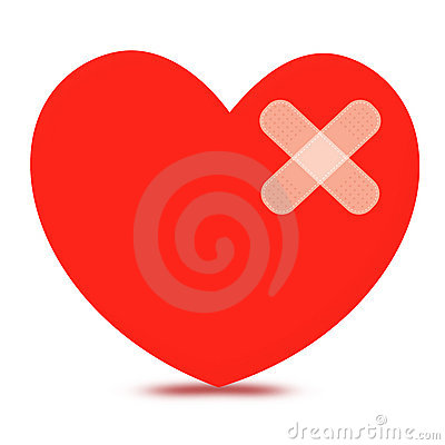 Free Broken Heart Royalty Free Stock Images - 8032029