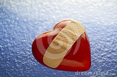 Broken Heart Bandaged