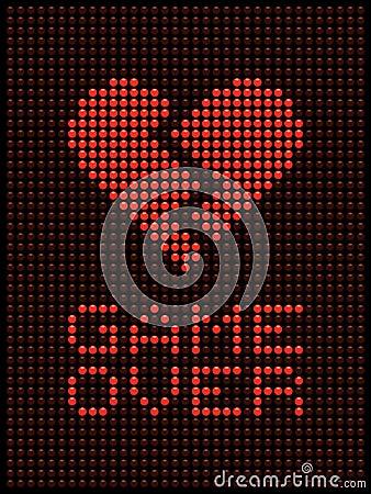 Broken Heart, Divorce / Break Up LED Lights