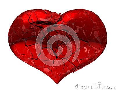 Broken Heart - unrequited love, death or pain