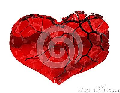 Broken Heart - unrequited love, pain