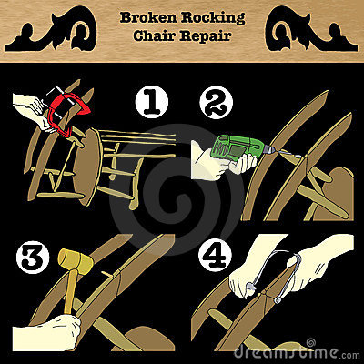 Broken Rocking Chair Repair