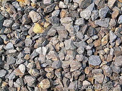 Broken stones